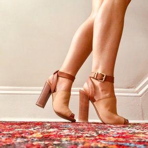 Steve Madden Shoes - Steve Madden Tan High Heels
